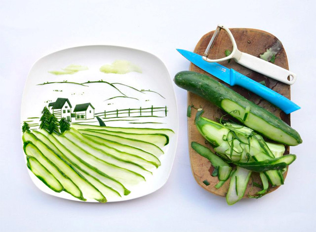 hong-yi_art-food_green