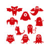 10-funny-monster-monocolor_rosso