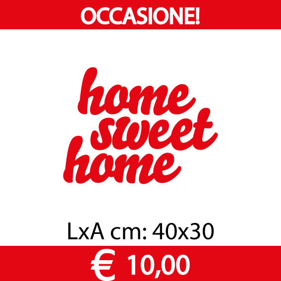 Home-Sweet-Home_30cm_rosso