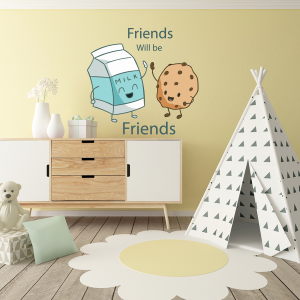 Friends wall stickers