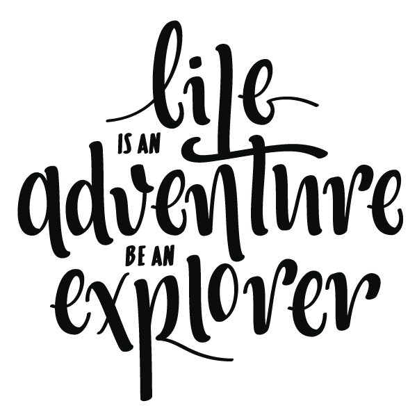 Life is an adventure adesivi murali wall stickers life is adventure
