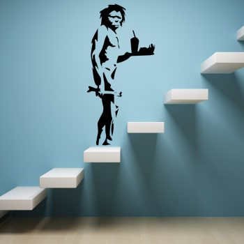Wall Stickers Tribute Banksy Evolution