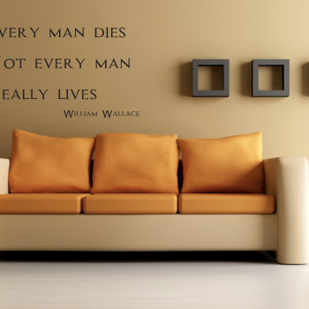 frase every man lives