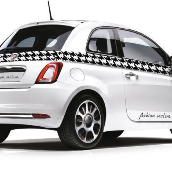 Adesivi per auto fiat 500 fashion victim