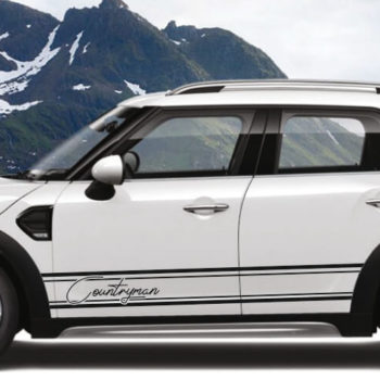 Adesivi per auto mini countryman stripes